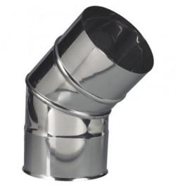 CURVA INOX 45º PORTOFLEX 125