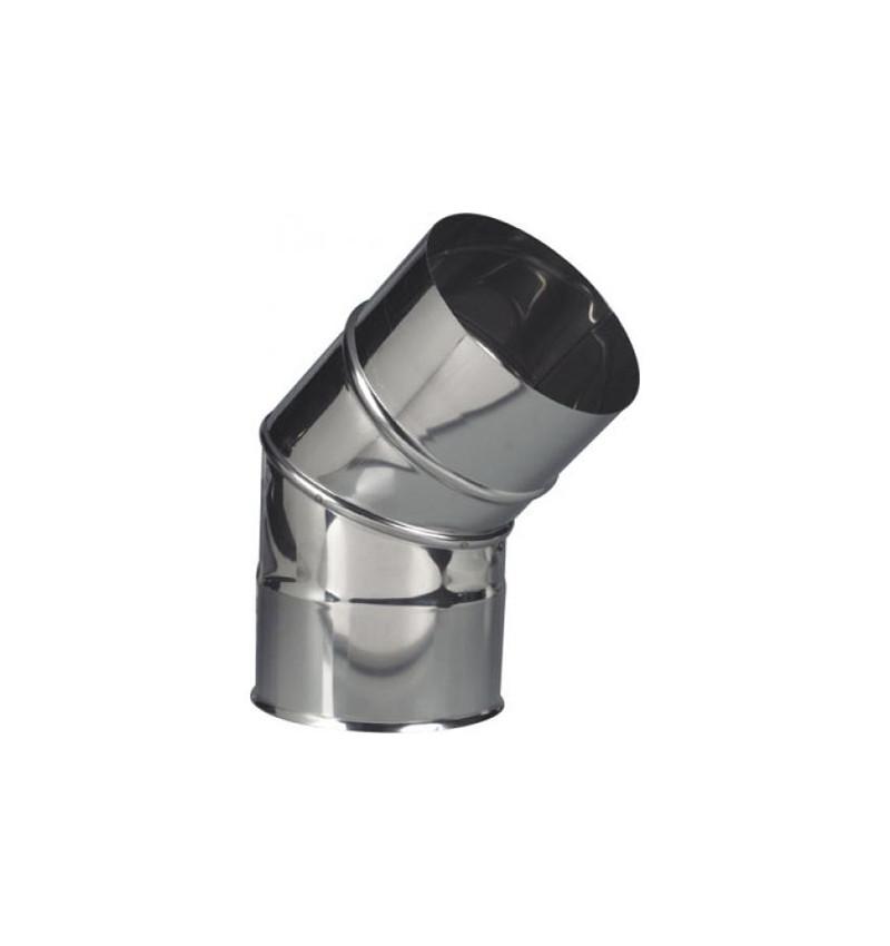 CURVA INOX 45º PORTOFLEX 150