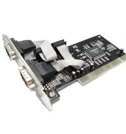 Placa PCI 2 portas série RS–232