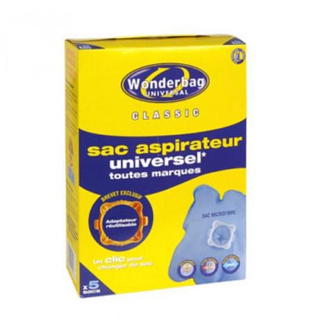 CONJ. 5 WONDERBAGS CLASSIC UNIV. ANT. BACT. ROWENTA - WB406120