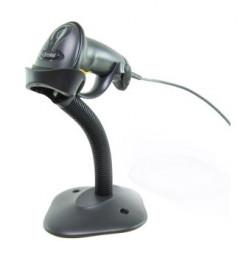 Scanner Laser Symbol LS2208 USB, Preto c/ suporte