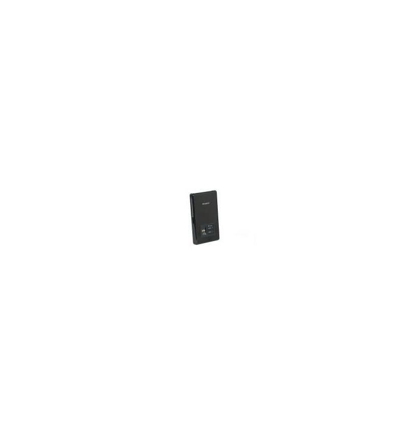 """Caixa Externa 2.5"""" SATA USB 2.0 c/ reconhecimento impressão digital"""