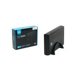 """Caixa Externa USB 2.0 1Life SATA 3.5"""" preta"""