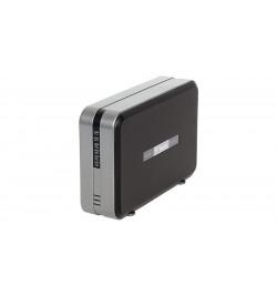 """Caixa Externa Fantec 3.5"""" alumínio 2 x SATA USB 2.0 RAID 0/1/JBOD preto"""