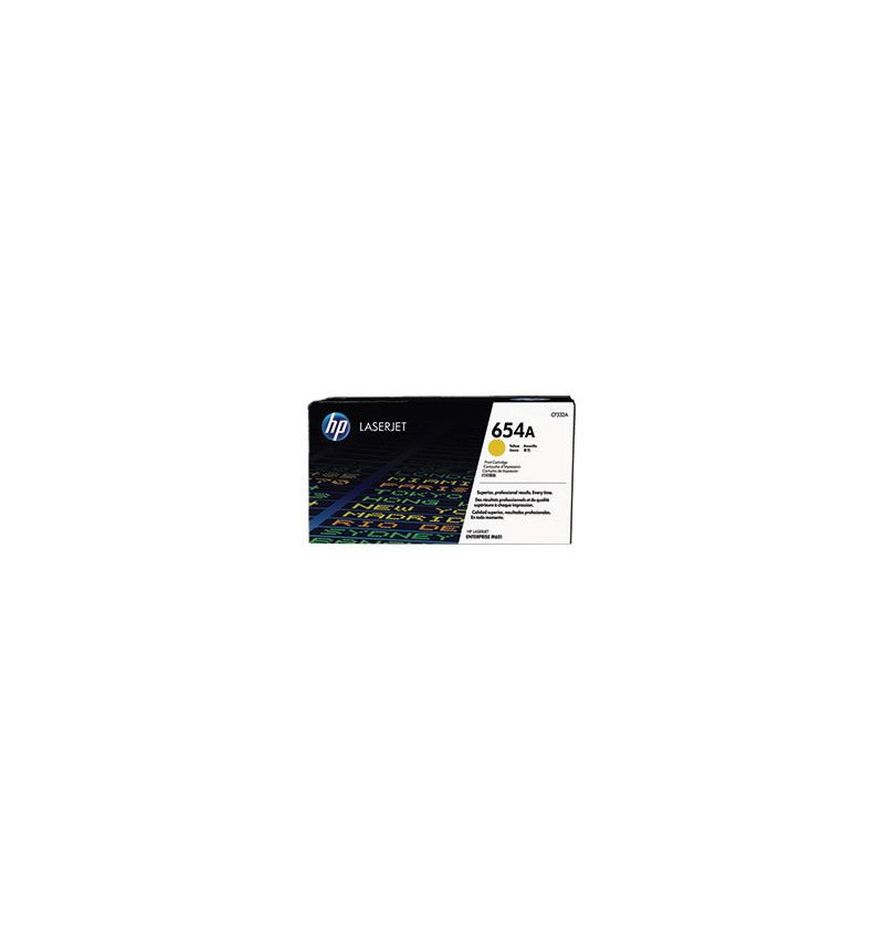 Toner Original HP 654A Yellow (CF332A)