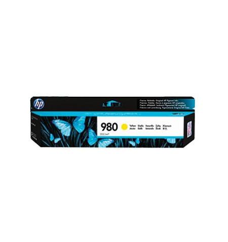 Tinteiro Original HP 980 Amarelo (D8J09A)