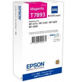Tinteiro Original Epson Magenta XXL 4000p WF-5xxx