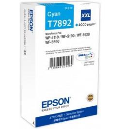 Tinteiro Original Epson Cyan XXL 4000p WF-5xxx