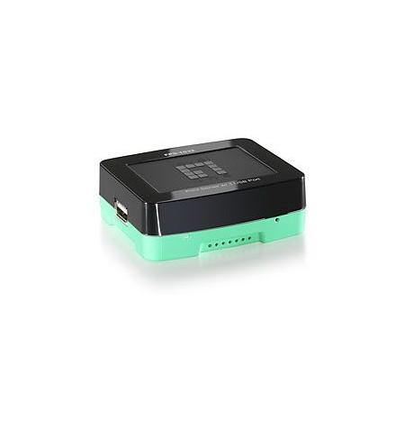 LevelOne Mini Printer Server with 1 USB 2.0 port