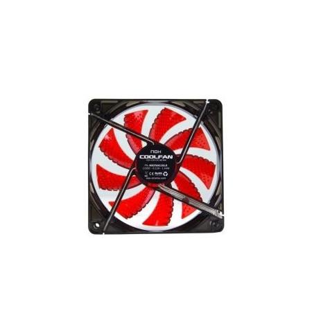 Nox Coolfan 120mm LED Vermelho