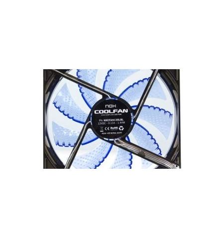 Nox Coolfan 120mm LED Azul - Levante já em loja