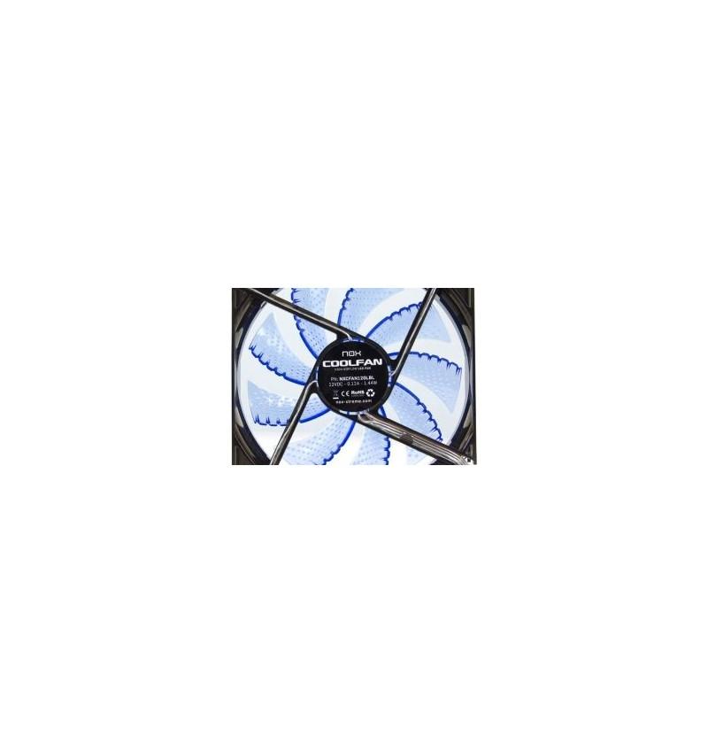 Nox Coolfan 120mm LED Azul