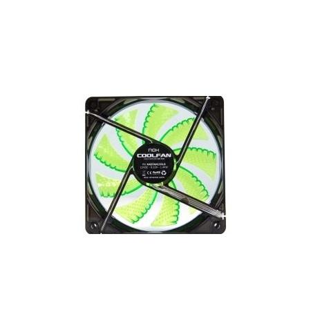 Nox Coolfan 120mm LED Verde