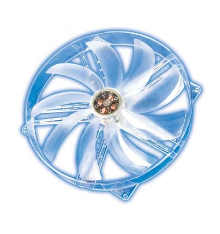 Fan Akasa Crystal Clear 220mm Blue Led - (Levante já em loja)