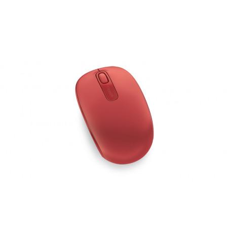 Rato Microsoft Wireless 1850 Flame Red V2 - U7Z-00034 - Levante já em Loja