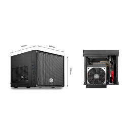Caixa Cooler Master Elite 110 Mini-ITX