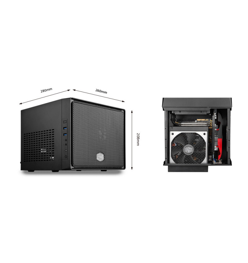 Caixa Cooler Master Elite 110 Mini-ITX