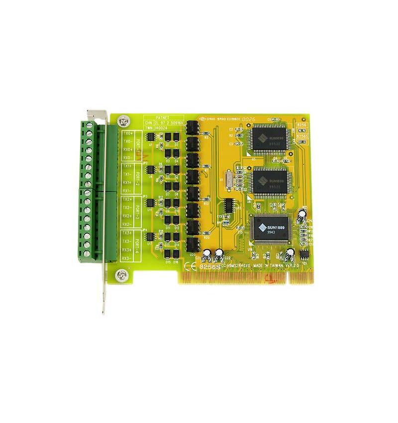 Placa PCI 4 portas Current Loop 20 mA PCI