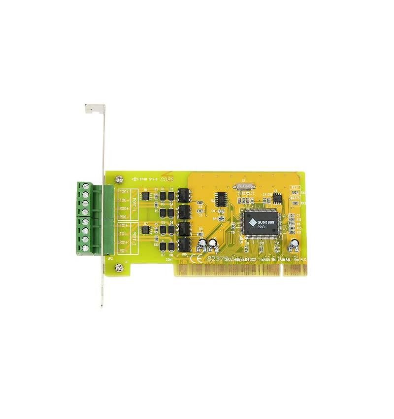 Placa PCI 2 portas Current Loop 20 mA PCI