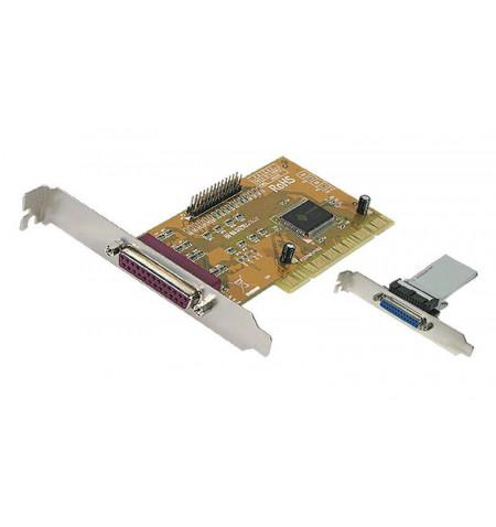 Controladora PCI 2 portas paralelas IEEE1284 3.3/5V