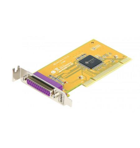 Placa PCI paralela 1 porta 32 bits 3.3V chipset SUN1989 - Baixo Perfil - PAR5008AL