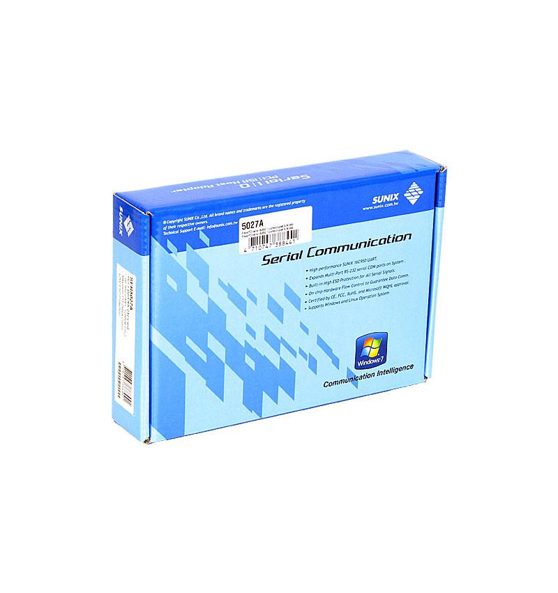 Placa PCI série 1 porta 3.3/5V chipset SUN1999
