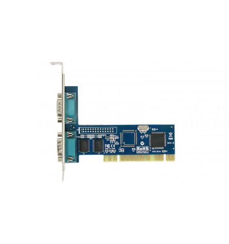 Placa PCI 2 portas série 1 porta paralela 32 Bits chipset SUN1999 - MIO5079A