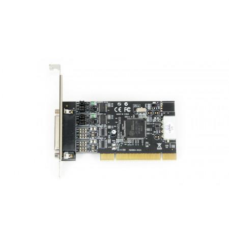Placa PCI Longshine 2 portas série RS–232 com alimentação 5/12V