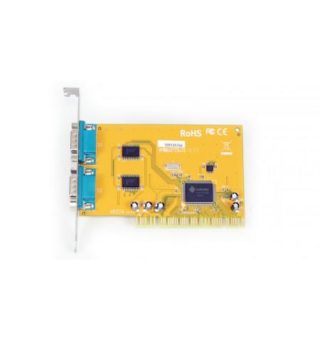 Placa PCI 2 portas série RS–232 Sunix SUN1889 - SER4037A
