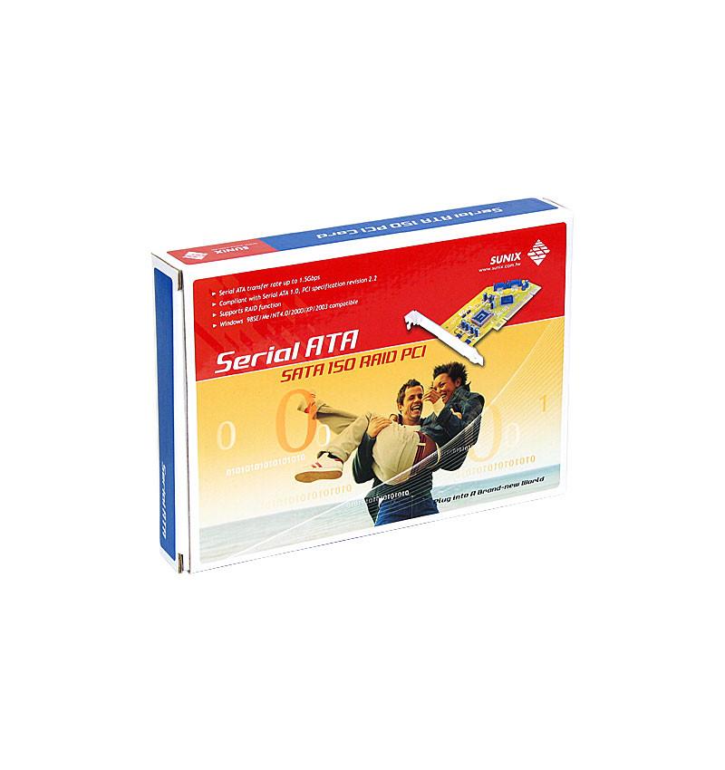 Placa PCI SATA II 1x interna + 1x externa