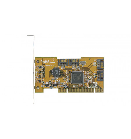 Placa PCI SATA 4 portas internas - SATA4000