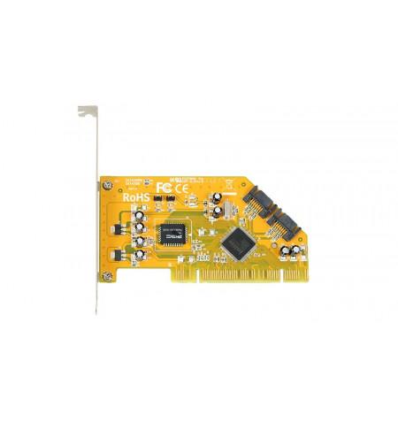 Placa PCI SATA II com 2 portas internas - SATA2100