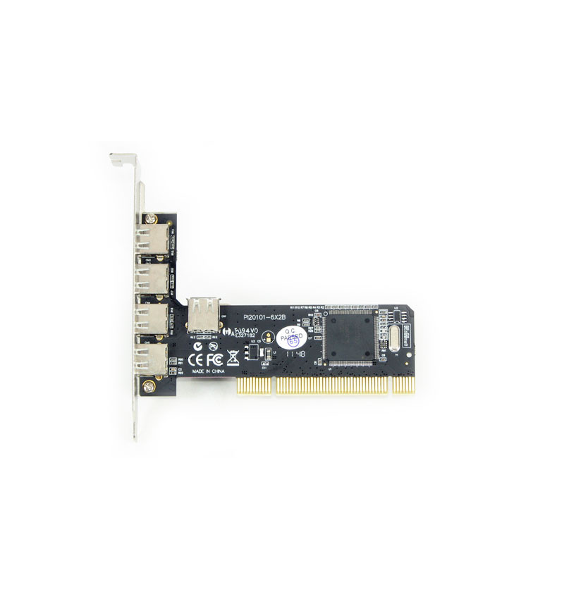 Placa PCI USB 2.0 Longshine 5 portas chipset NEC