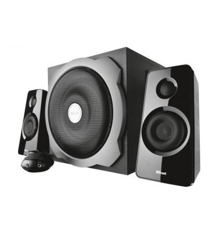 Colunas TRUST Tytan 2.1 Speaker Set - black - 19019 - Levante já em loja