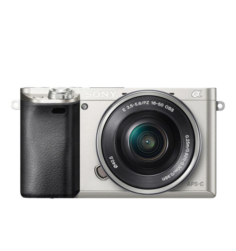 Câmara Reflex Sony ILCE-A6000 Prata