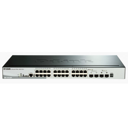 D-Link 28 Gigabit Stackable SmartPro PoE Switch