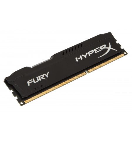 Kingston 8GB HyperX Fury Black DDR3 1866MHZ PC3-14900 CL10 - HX318C10FB/8