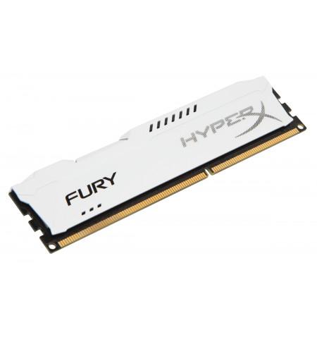 Kingston 8GB HyperX Fury White DDR3 1600Mhz PC3-12800 CL10