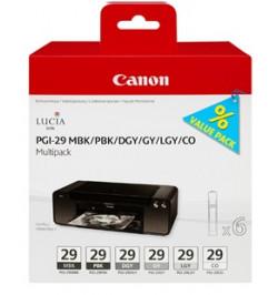 Canon PGI-29 MBK/PBK/DGY/GY/LGY/CO Multi Pack