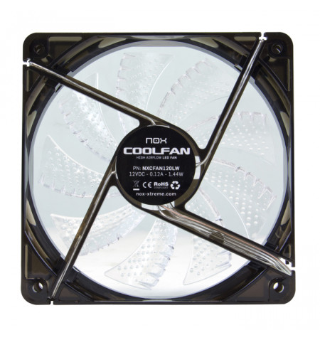 Nox Coolfan 120mm LED White