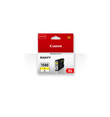 Tinteiro Original Canon PGI-1500 XL Amarelo (9195B001)