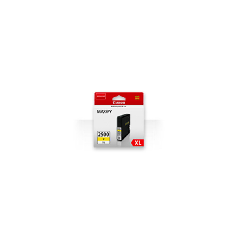 PGI-2500 XL Yellow ink Cartridge Maxify séries