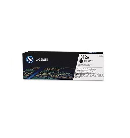 HP 312A Black LaserJet Toner Cartridge (CF380A)