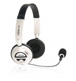 Headset NGS MSX6PRO Branco (WH-MSX6PRO)