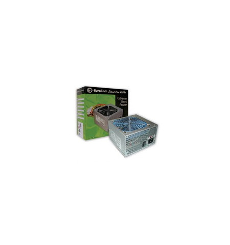 Fonte Alimentação  Eurotech 420W Silent Pro 12cm Retail Silver - Silent Pro 420W