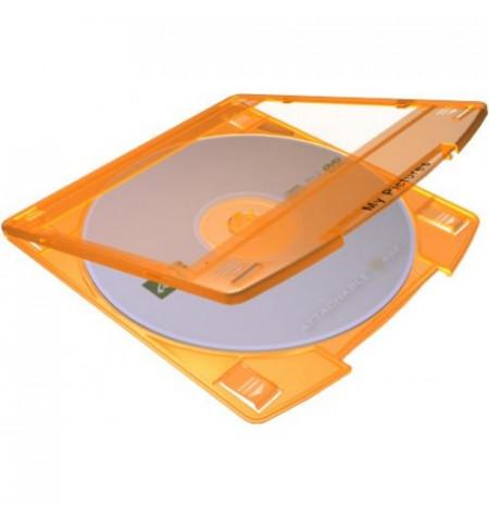 Caixa DVD (Pack 10) - Laranja (AC-NT10)