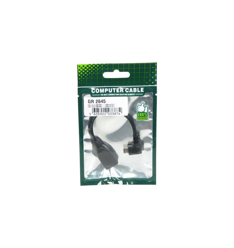Cabo Micro USB/USB OTG 2.0 (GR 2645)