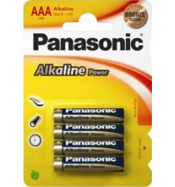Pack 4Uni Pilhas Panasonic LR$03APB/4BP