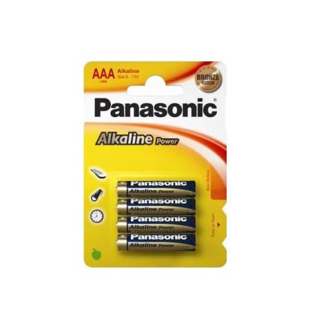Pack 4Uni Pilhas Alcalinas Panasonic LR403APB/4BP
