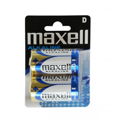 Pack 2Uni Pilhas Alcalinas Maxell LR20-MN1300